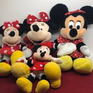 Other - Minnie Mouse stuffed animal lot.